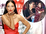 Juggling her two hats! Adriana Lima treats daughter Valentina to elaborate Miami birthday party before slipping into sexy red dress for Victoria's Secret event in NYC