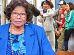 Katherine Jackson watched Blanket Jackson win another belt in his karate class