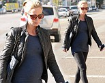 Beauty and the bump! Emily Blunt pampered herself with a trip to WAX salon in Los Angeles, California on Tuesday