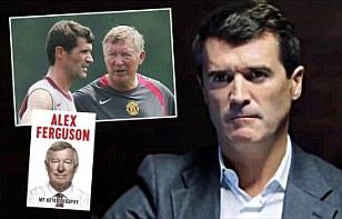 Roy Keane took a swipe at Sir Alex Ferguson