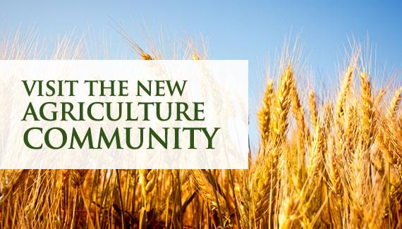 Visit The New Agriculture Community