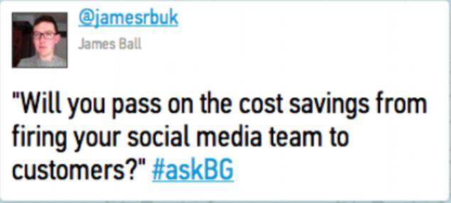 British Gas twitter reaction