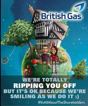British Gas twitter storm