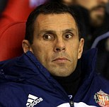Not in the festive mood: Gus Poyet says Sunderland's players have nothing to celebrate