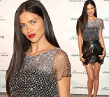 Truly angelic: Victoria's Secret Angel model Adriana Lima on Tuesday attended the Celebrating Haitian Heroes of St. Luke Foundation event in New York City