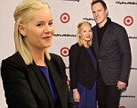 Is Elisha Cuthbert pregnant? The actress sports baggy clothing hiding her belly for an appearance with Dion Phaneuf at Target