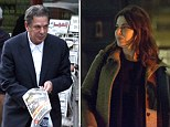 Nigella goes out for £70-a-head Indian meal with author Salman Rushdie as Charles Saatchi pops out for a magazine as courtroom battle continues
