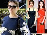 Polar opposites: Anna Kendrick ditches her glamorous duds for a decidedly dowdy ensemble as she arrives home from rubbing shoulders with the President
