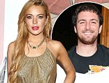 Famous friends: Lindsay Lohan's friend Ray LeMoine, center, shown in 2012 in New York City, has admitted beating Barron Hilton last week at a mansion party in Miami