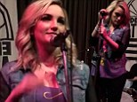 Jamie Lynn Spears pays tribute to her big sister with a country cover of Britney's pop anthem Oops! I Did It Again