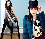 'That David Beckham, he's sooo hot': Emmy Rossum opens up on her famous neighbours as she poses for Company