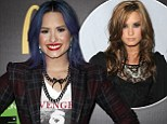 Hitting rock bottom: Demi Lovato opened up in an interview with about her drug dependency issues, eating disorder, and regaining her health