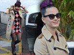 Katy Perry steps out in London
