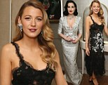 Diamonds Are A Girl's Best Friend! Blake Lively stuns in lingerie-inspired gown while Dita Von Teese drops jaws in a plunging dress at Van Cleef & Arpels event