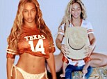 So the diet's working out then? Beyonce flashes her toned tummy amid 22-day vegan challenge... and shares an adorable snap of Blue Ivy