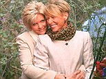 Family Ties star Meredith Baxter is the picture of happiness as she weds longtime love Nancy Locke in an intimate ceremony