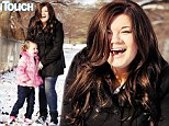 Reunited: Teen Mom reality star Amber Portwood reunited with four-year-old daughter Leah Ann Shirley after serving a 17 month prison sentence, from which she emerged, reformed