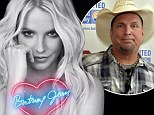 Not number one! Britney Spears is set to sell an impressive 115k copies of new album but it's Garth Brooks who'll nab top spot