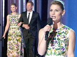 That's one way to celebrate! Claire Danes marks her SAG nomination by hosting the Nobel Peace Prize Concert