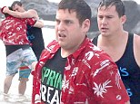 I love you, man! Channing Tatum rescues Jonah Hill from drowning for action scene on set of 22 Jump Street... and then wraps his co-star in a bear hug