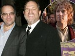 Harvey and Bob Weinstein sue for $75 MILLION over Hobbit films