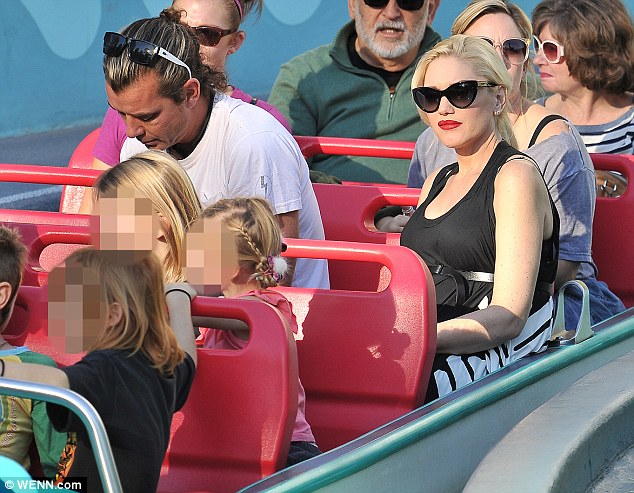 It's A Small World! Gwen and Gavin took their two boys Kingston and Zuma to Disneyland this week