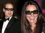 The Duke and Duchess of Cambridge don 3D glasses at Attenborough premiere