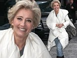 'He had a dinner plate for a face!' Emma Thompson describes her encounter with an Orangutan in the jungle on Late Night With David Letterman