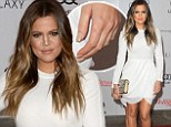 Leggy Khloe Kardashian makes red carpet appearance without her wedding ring... amid claims she plans to divorce Lamar Odom 'very soon'