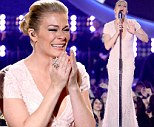 LeAnn Rimes breaks down in tears as she performs emotional medley of Patsy Cline's hits at American Country Awards