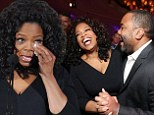 Oprah on top! Winfrey's laughs and cries as she celebrates dual honors with both a Screen Actors Guild nomination and leadership award