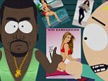 'Kim Kardashian is a Hobbit': South Park creators make fun of reality star and her fiance Kanye West in one of their most controversial parodies yet