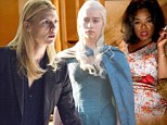 Homeland and Game Of Thrones snubbed at Golden Globes... while Oprah Winfrey misses out on acting nomination