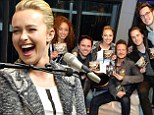 Juliette would approve! Nashville diva Hayden Panettiere is full of glee on eve of Golden Globe nomination as she joins co-stars to plug new album