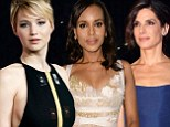 'Humbled, excited and extremely surprised': Jennifer Lawrence, Sandra Bullock and Kerry Washington react to their Golden Globe nominations