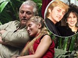 His true colours: David Emanuel's behaviour on screen, such as the Dingo Dollar Challenge 'Pecking Order' with Lucy Pargeter, awoke Elizabeth's loving feelings
