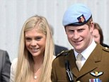 Prince Harry with Chelsy Davy in May 2010
