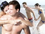 One year anniversary! Peter Facinelli and Jaimie Alexander kiss, cuddle and hold hands while on a sexy getaway in Mexico