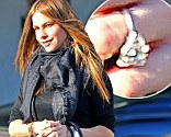 It's back on: Sofia Vergara had her engagement ring back on as she went shopping on Thursday in Beverly Hills, California