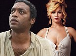 Success story: 12 Years A Slave led the nominations for the 2013 Golden Globe Awards wards with seven nods