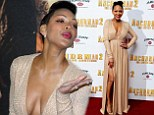 Meagan Good attending the UK premiere of Anchorman 2