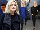 Ashley Roberts helps her former bandmate Kimberly Wyatt shop for a wedding dress