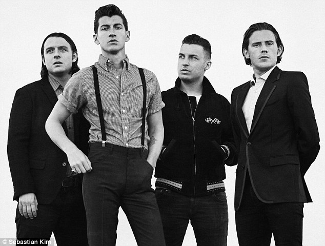 In the mix: Arctic Monkeys has also announced they will be performing at the BRIT Awards