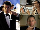 James Bond is a functioning alcoholic