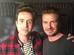 Guest: David Beckham was interviewed on BBC Radio One Breakfast Show