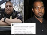 "Ohio police chief published a scathing open letter to Kanye West on Facebook Thursday, telling the famous rapper to ""check yourself, before you wreck yourself"