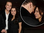 Richard Fleeshman and Samantha Barks attend the English National Ballet Christmas party