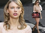 Well, hello legs! Taylor Swift makes her pins the centre of attention as she treats herself to some pre-birthday shopping