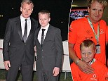 Like father, like son: Gordon Ramsay and his teenage son Jack continue to dress in matching clothing