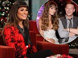 'I felt like the luckiest girl in the whole world': Glee star Lea Michele reveals the joy tragic lover Cory Monteith brought into her life